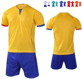 Senston New Soccer Jersey And Shorts Team Polo Shirt(Kid/Youth/Man:6 color)