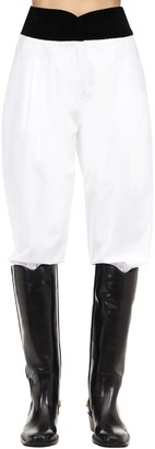 ÀCHEVAL PAMPA Cotton Blend Satin Pants