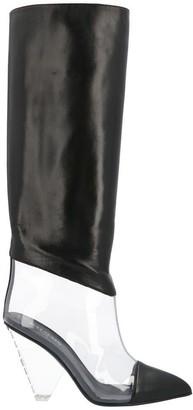 Balmain Lisy Contrast Boots