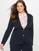ELOQUII Plus Size Double Button Jacket