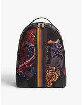 Paul Smith Hawaiian Koi print backpack