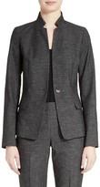 Lafayette 148 New York Women's Tristan Monticino Suit Blazer