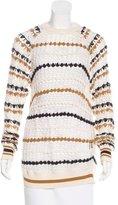Etoile Isabel Marant Macremé Long Sleeve Sweater