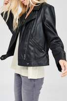 Wishlist Black Leather Jacket