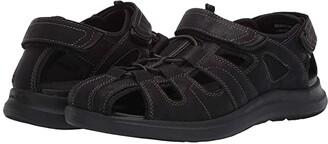 Nunn Bush Rio Vista Fisherman Sandal (Black) Men's Sandals