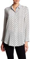 Equipment Reese Clean Graphic Long Sleeve\nSilk Shirt