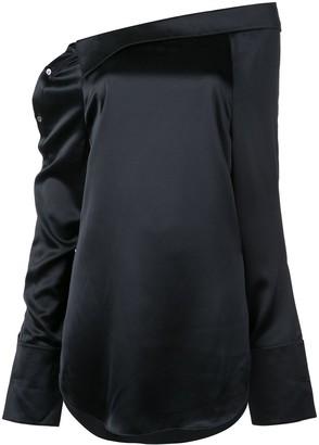 Monse shoulder placket shirt