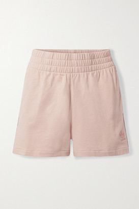 adidas Cotton-jersey Shorts - Blush
