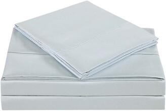 Charisma Solid Dawn Blue Sheet Set