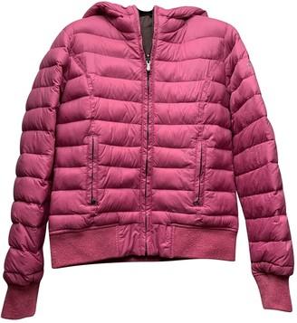 Woolrich Pink Viscose Jackets & Coats