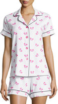 BedHead Butterfly-Print Short Pajama Set