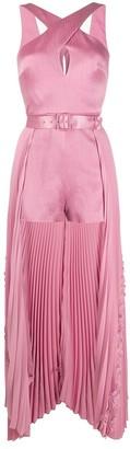 Alexis Ambra skirt-layered romper