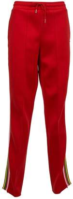 Sandro Red Polyester Trousers