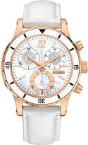 Balmain Women's Balmainia 40mm White Leather Band Quartz Watch B5553.22.84