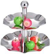 dfsgr Stainless Steel Fruit owl/Cake Pan/Creative,Multi-functional Fruit Plate