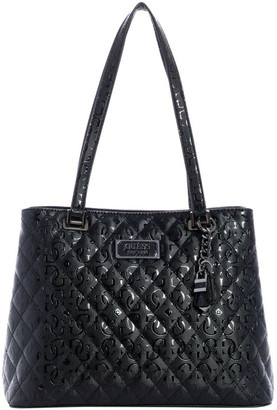 GUESS SM787436BLA Lola Double Handle Tote Bag