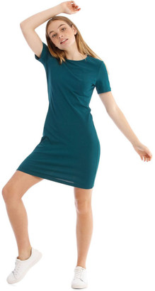 Miss Shop Crew Neck Short Sleeve Body-Con Dress
