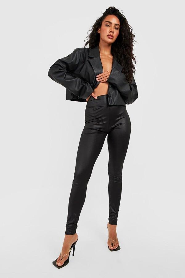 b9d680517633fd Wet Look Leggings - ShopStyle