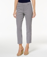 Charter Club Petite Newport Printed Cropped Pants, Created for Macy's
