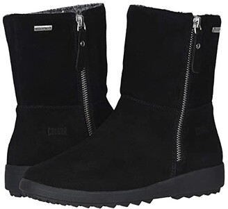 Cougar Vito Waterproof (Black Suede) Women's Cold Weather Boots
