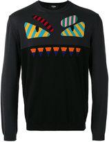 Fendi Bag Bugs sweater - men - Cotton - 46