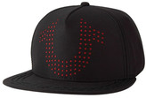 True Religion Laser Perforated Baseball Cap