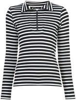 Marc Cain striped roll neck top