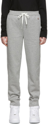 Moncler Grey Logo Lounge Pants