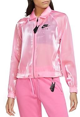 Nike Zip Up Sheen Jacket