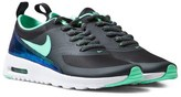Nike Black and Green Air Max Thea Trainers