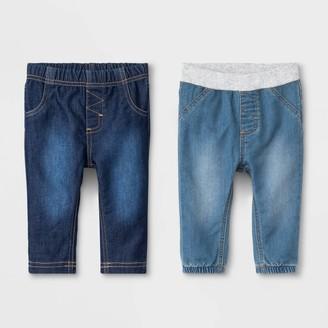 Cat & Jack Baby Boys' Cozy Stretch Denim Fletcher Wash Jeans - Cat & JackTM