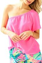 Lilly Pulitzer Fifer One-Shoulder Top