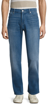 7 For All Mankind Standard Faded Jeans