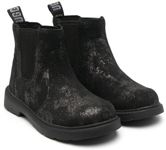Ugg Kids Metallic Finish Ankle Boots