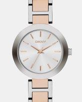 DKNY Stanhope Multi-Tone Analogue Watch