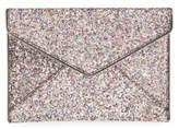 Rebecca Minkoff 'Leo' Envelope Clutch - Metallic