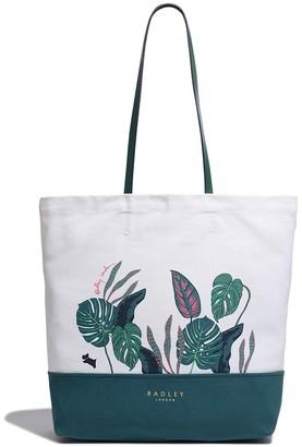 Radley Winter Gardens Large Premium Tote Bag - Natural