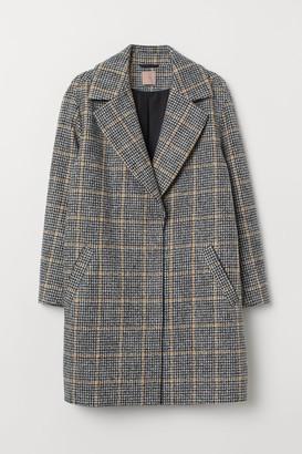 H&M H&M+ Felted Coat - Beige