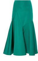 Carolina Herrera Silk Faille Tulip Skirt