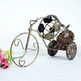 Bopm Creative fashion antique three-wheeled wine rack
