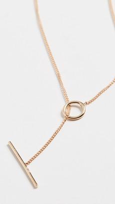 Ariel Gordon 14k Toggle Wrap Chain Necklace