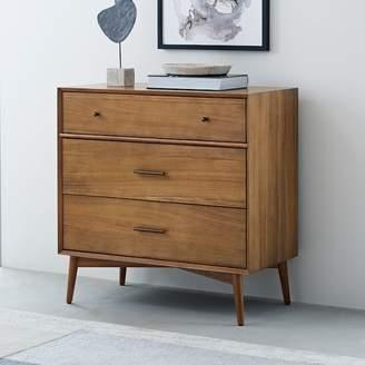 west elm Mid-Century 3-Drawer Dresser - Acorn