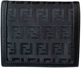 Fendi Black Cloth Small bags, wallets & cases