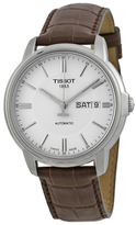 Tissot Automatic III White Dial Men's Watch, 39mm