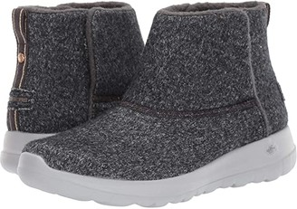 Skechers Performance On The Go Joy Wash-A-Wool (Charcoal) Women's Boots
