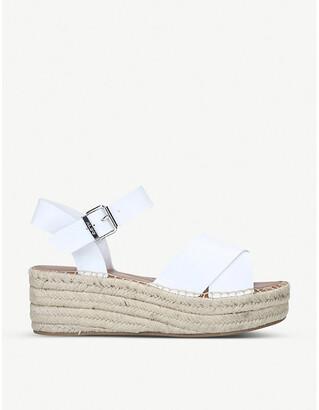 Aldo Tineviel faux-leather platform sandals