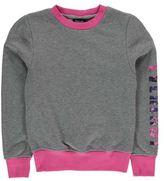 Everlast Kids Girls Crew Neck Sweater Junior Jumper Pullover Long Sleeve Print