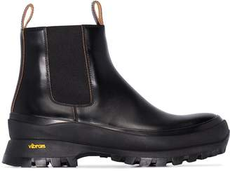 Jil Sander chunky ankle boots