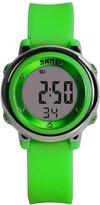Hi Watch Hiwatch Girls Watch Kids Waterproof Sport Digital Wrist Watches for Youth Green
