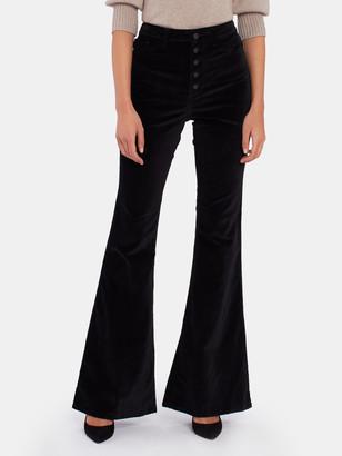 "DL1961 Rachel 35"" High Rise Flare Jeans"